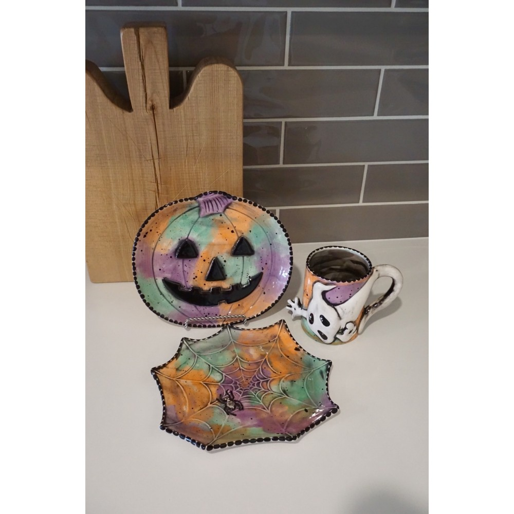Large Pumpkin Plate - Case of 6