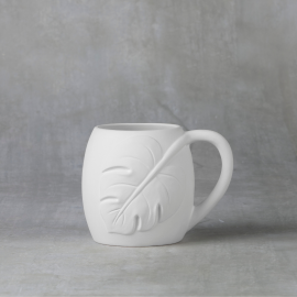 Monstera Leaf Mug