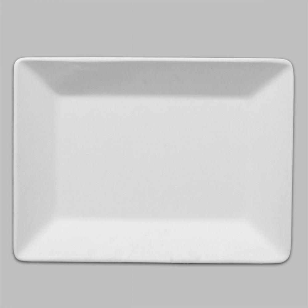 Rectangle Dinner Plate Technique