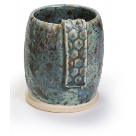SW-154 Shipwreck Over SW-153 Indigo Rain Stoneware Combination