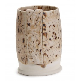 SW-176 Sandstone Over SW-003 Crackle Matte Clear Stoneware Combination