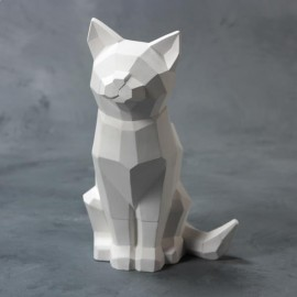 Faceted Cat - Case of 4