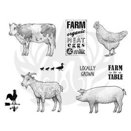 Farmhouse Designer Silk Screen