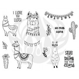 Llama Drama Designer Silk Screen