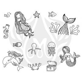 Under the Sea Designer Silk Screen