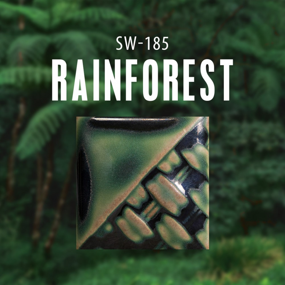 Rainforest - 16 oz Mayco Stoneware Glaze
