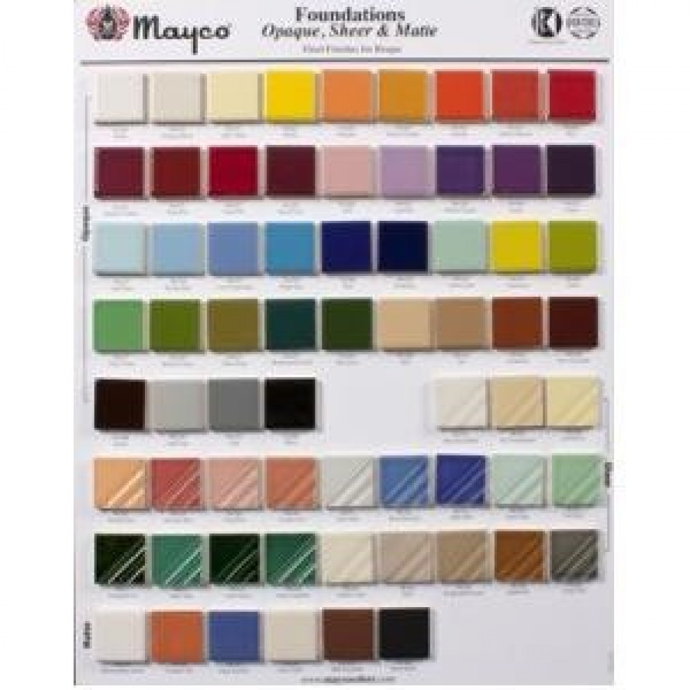 Foundations Color Chip Board