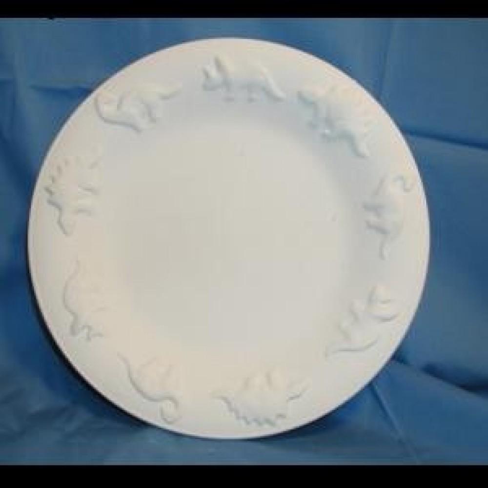 Dino Child Plate